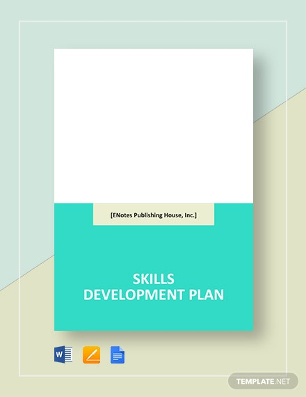 Skills Development Plan Template
