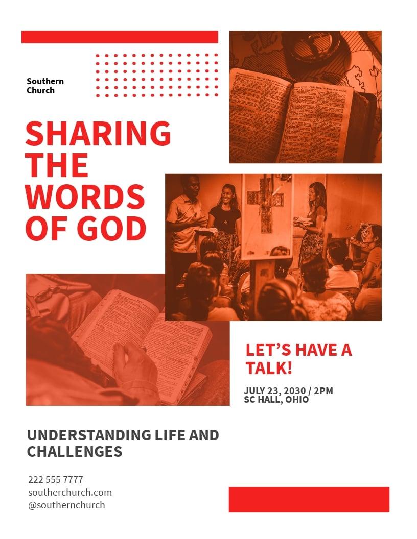 Sunday Church Event Flyer Template.jpe