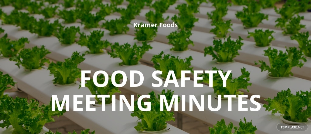Free Food Safety Meeting Minutes Template.jpe