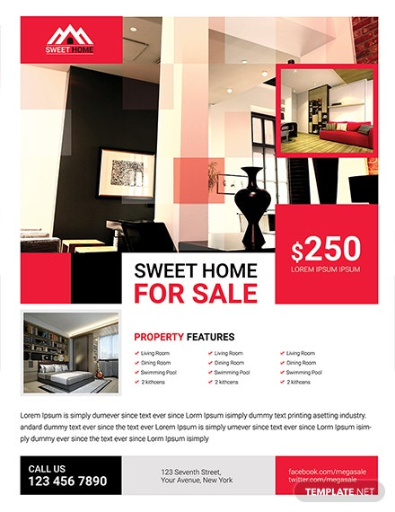 Free Home Sale Flyer Template