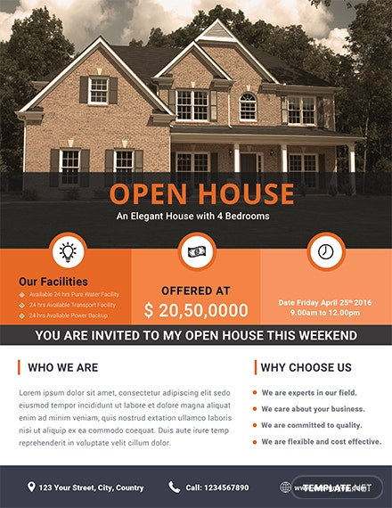Free Home Real Estate Flyer Template Download 675 Flyers In Psd