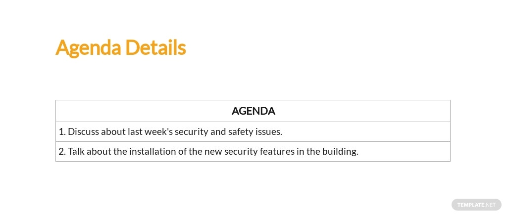 Free Workplace Safety Meeting Minutes Template 2.jpe