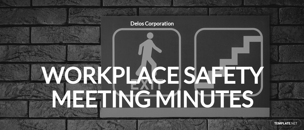 Free Workplace Safety Meeting Minutes Template.jpe