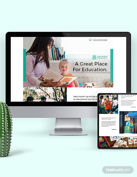 Daycare Newsletter Template Download