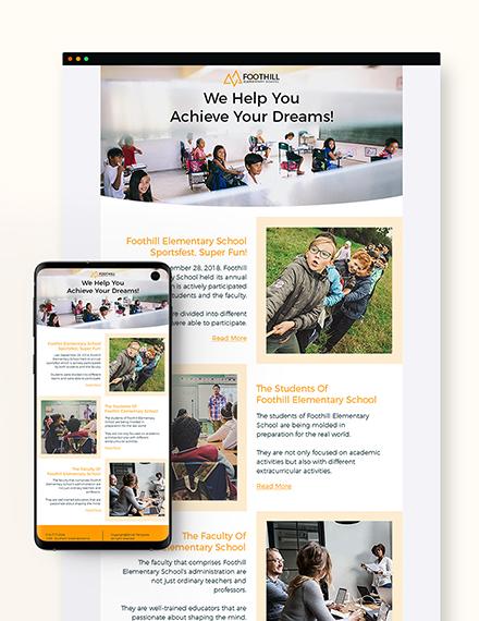 Sample Elementary Classroom Newsletter