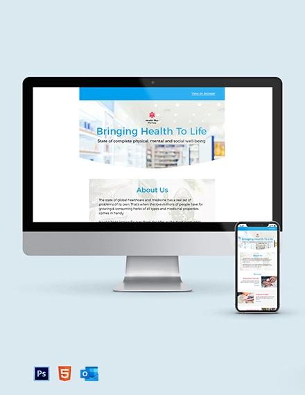 Pharmacy Newsletter Template