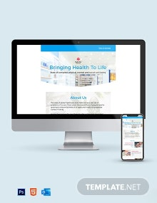 Pharmacy Newsletter Template