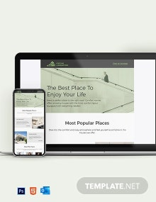 Real Estate Agency Newsletter Template