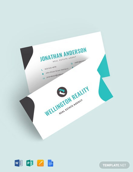 Agency Business Card Template