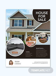 open house mortgage flyer templates