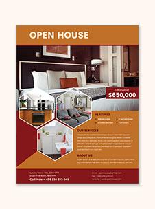 Printable Open House Flyer Template