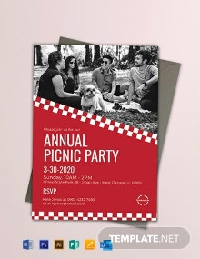 Free Corporate Picnic Invitation Template
