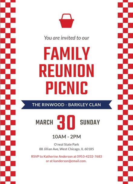 free company picnic invitation template in ms word