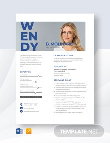 SAP PM Consultant Resume Template