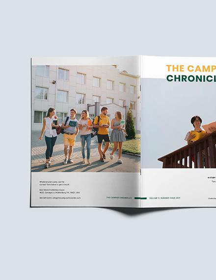 Customise Basic School Magazine
