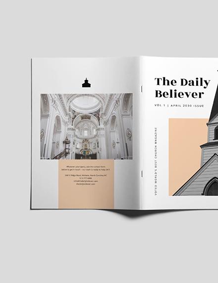 Customise Church Magazine