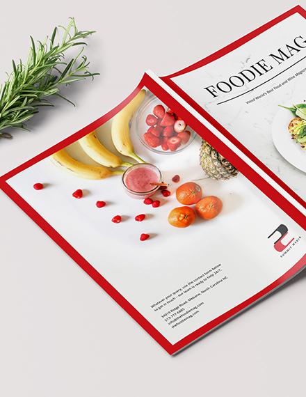 Customise Food Magazine