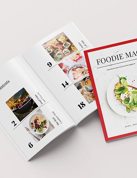 Food Magazine Download
