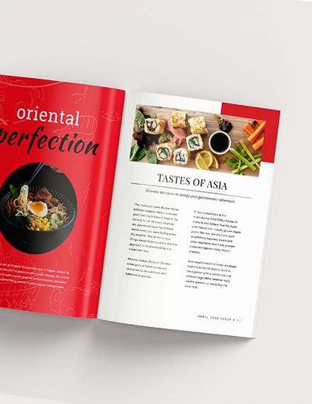 Sample Food Magazine