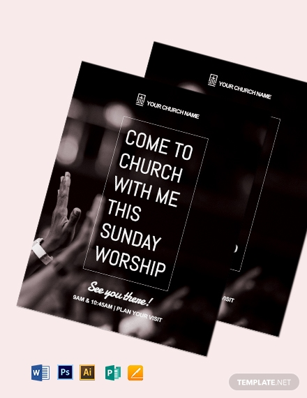 Worship Flyer Template