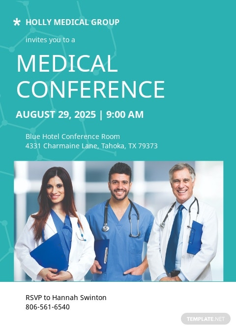 Medical Conference Invitation Template