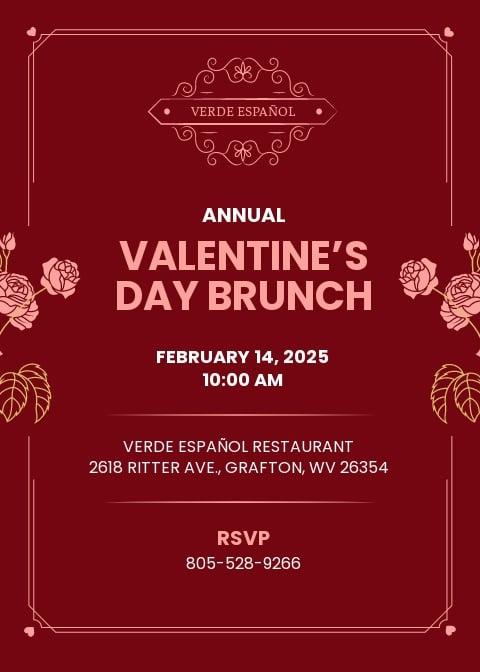Valentine Brunch Invitation Template.jpe