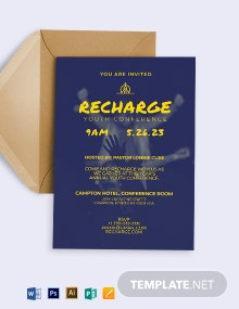 Youth Conference Invitation Template