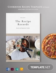 Cookbook & Recipe Template