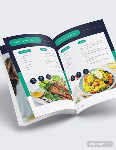 Sample Digital Recipe Book Notes Template