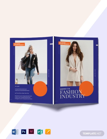 Modern Fashion Magazine Template