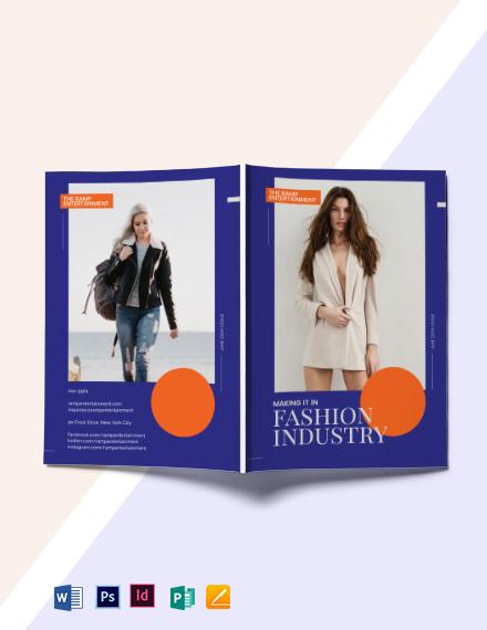 Modern Fashion Magazine Template
