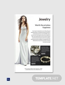 Free Jewelry ebook Cover Page Template