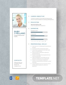 Human Resources Clerk Resume Template