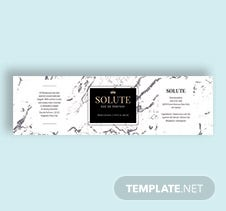 Printable Perfume Bottle Label Template