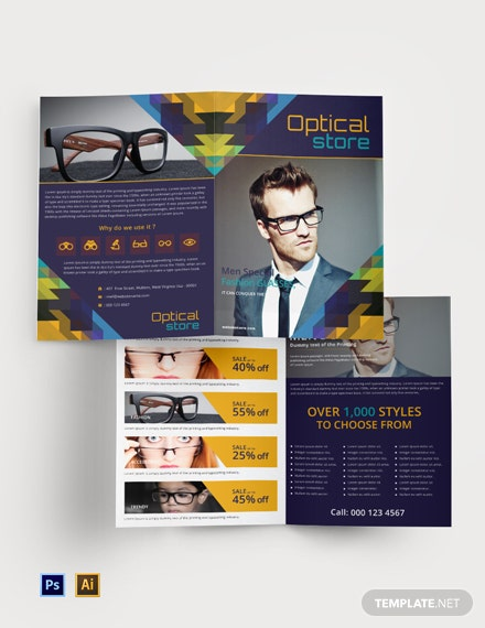 Free Optical Store BiFold Brochure