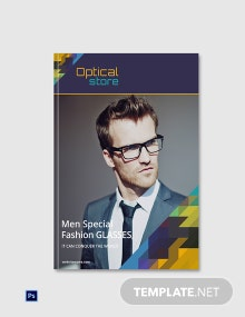 Free Optical Store eBook Cover Template