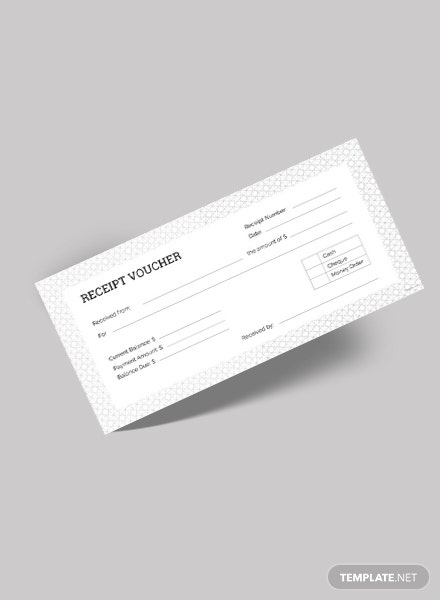 Receipt Voucher Template