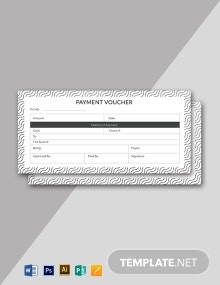 Free Sample Payment Voucher Template