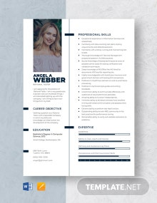 Rational Tester Resume Template