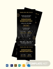 Happy Hour Birthday Party Invitation Template