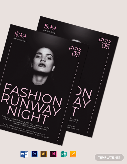 Fashion Night Flyer Template