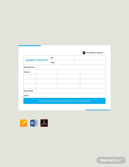 Free-Sample-Receipt-Template