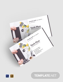 Free Startup Business Card Template