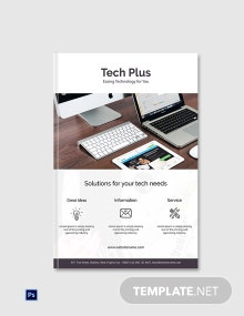 Free Startup Business eBook Cover Page Template
