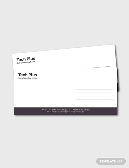 Free Startup Business Envelope Template