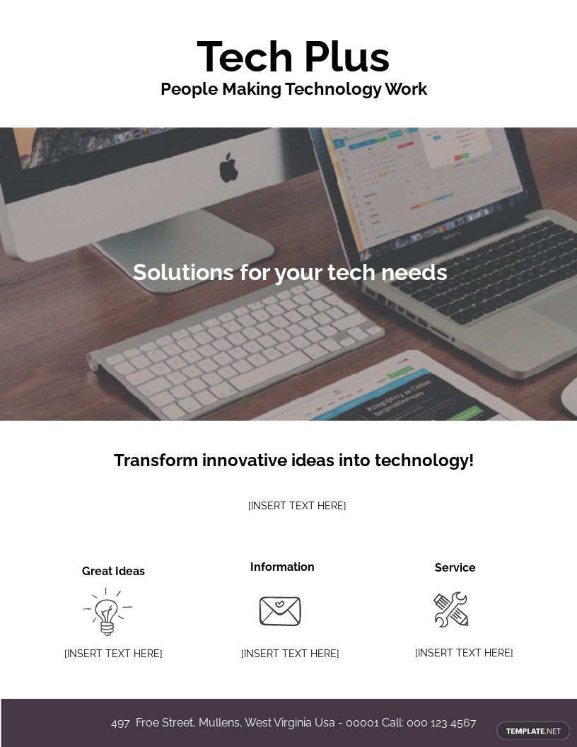 Startup Business Flyer Template
