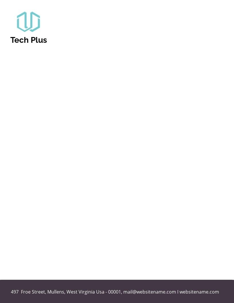 Startup Business Letterhead Template