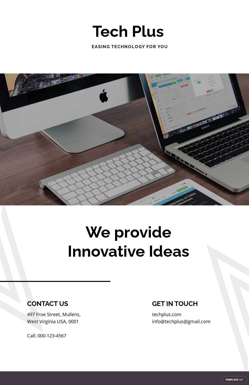 Free Startup Business Poster Template.jpe