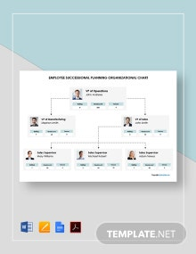 Free Employee Succession Planning Organizational Chart Template