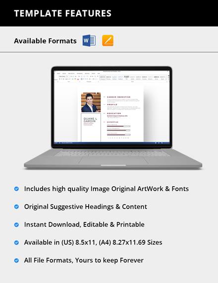 Simple Sales Order Processor Resume